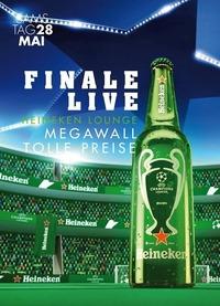 Champions Leauge Finale LIVE - Heineken Promo@Johnnys - The Castle of Emotions