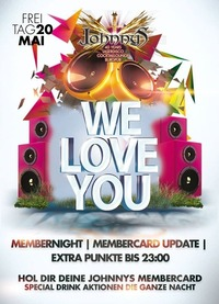 We LOVE YOU - MEMBERNIGHT@Johnnys - The Castle of Emotions