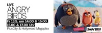 Angry Birds live in der PlusCity@Plus City