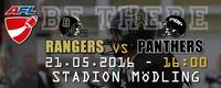 AFC Rangers - Prague Black Panthers@Stadion Mödling