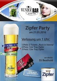 Zipfer Party@Wunderbar Steyr