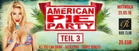American pie party part III - All you can drink 16+@Ride Club