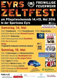 Modeschau Eyrs Smile&Walk@Zeltfest Eyrs