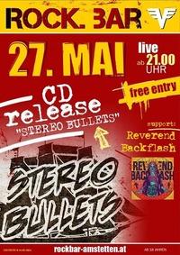STEREO BULLETS(CD RELEASE)&REVEREND BACKFLASH@rock.BAR@rock.Bar