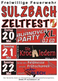 Burnover Party XL@Festzelt beim Feuerwehrhaus