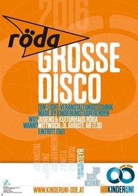 Große Disco für junge Leute@KV Röda