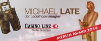 Nacht der Magie im Casino Linz - MERLIN AWARD für Michael Late@Casino Linz