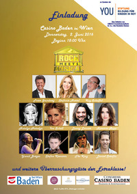 """Rock meets Musical""-Gala@Casino Baden"