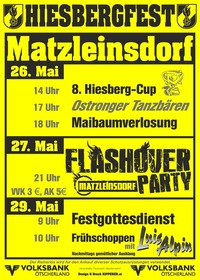 Hiesbergfest der FF Matzleinsdorf@FF Haus