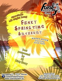 ☼ Funky Springtime ☼ Saturday May 21th, 2016@Funky Monkey