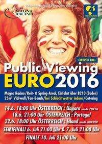 Public Viewing Fußball EM 2016@Magna Racino