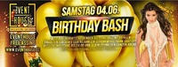 B-Day Bash Juni 2016@Eventhouse Freilassing
