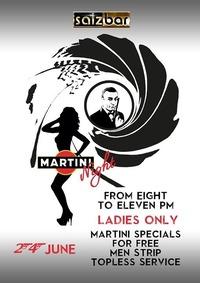 Salzbar presents Martini Night@Salzbar