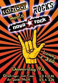 Salzbar Rocks meets Nova Rock@Salzbar