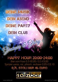 Glamour & Glory mit DJ One@Salzbar
