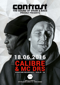 CONTRAST presents CALIBRE & MC DRS@GRELLE FORELLE