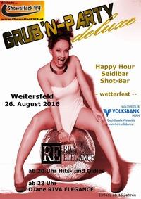 Grub'n Party deluxe 2016@Steinbruch Deponie Schadn