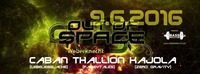 Out of Space Psytrance Club ૱ Donnerstag 9. Juni 2016 ૱ Weberknecht@Weberknecht