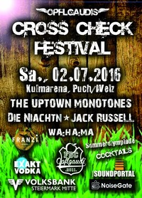 CROSS CHECK Festival 2016@Kulmarena