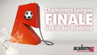 Champions League Finale LIVE in der academy@academy Cafe-Bar