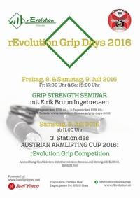 rEvolution Grip Days 2016@rEvolution Fitness