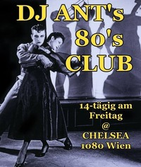DJ ANT's 80's CLUB@Chelsea Musicplace