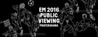 EM Public Viewing 2016 at Sauna Strand Klub@Pratersauna