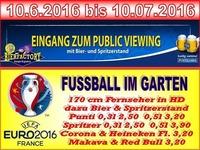 Public Viewing EURO 2016@Bierfactory XXL