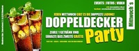 Doppeldecker Party@Mondsee Alm
