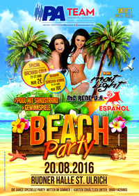 BEACH PARTY@Rudnerhalle St.Ulrich/GreitH