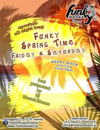 Funky Springtime - Saturday June 4th 2016@Funky Monkey