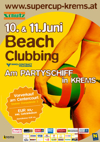 Beachclubbing am Partyschiff@Center Court Krems