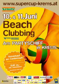 Beachclubbing am Partyschiff@Center Court Krems