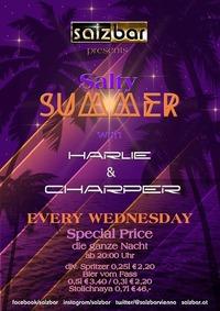 Salty Summer with Harlie&Charper @Salzbar@Salzbar