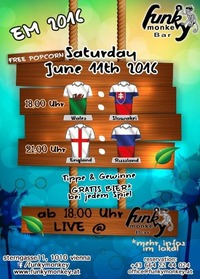 Funky - Soccer - Fever !!! Saturday June 11th 2016@Funky Monkey