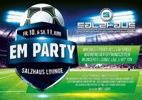 EUROpameisterschaftsPARTY at Lounge@Salzhaus