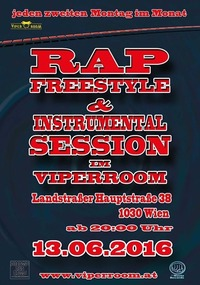 Rap Freestyle & Instrumental Session@Viper Room