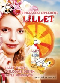 Terrassen Opening mit Lillet@Johnnys - The Castle of Emotions