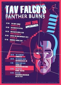 Tav Falco And The Panther Burns (USA)@Chelsea Musicplace