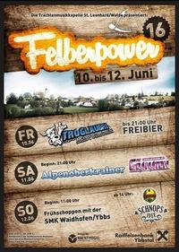 Felberpower 2016@Festzelt