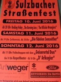 Sulzbacher Straßenfest@Sulzbach
