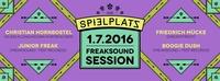 Freaksound Session am Spielplatz@Club Spielplatz