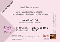After-Work Beauty Lounge Event@Manolos
