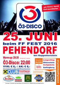 Ö3 Disco Pehendorf - Juni 2016@Pehendorf