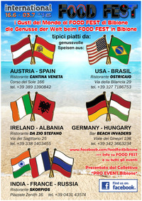 International FOOD FEST 2016@Bibione