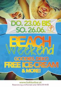 Beach Weekend@Kaktus Bar