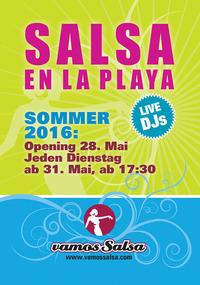 Salsa en la playa@Vienna City Beach Club