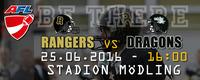 AFC Rangers Mödling - Danube Dragons@Stadion Mödling