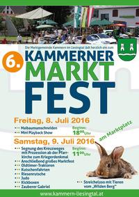 6. Kammerner Marktfest@Marktplatz Kammern