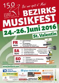 Bezirksmusikfest St. Valentin@Festzelt